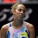 女子テニスのマディソン・キーズ(2020年1月24日撮影)。(c)Manan VATSYAYANA / AFP