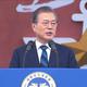 韓国・文大統領の支持率が41.4% 過去最低に
