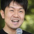 「土田晃之日曜のへそ」で公開放送を行うタレントの土田晃之