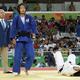 連覇を狙い挑んだ2016年のリオデジャネイロオリンピック。準決勝で一本負けを喫してしまうが、3位決定戦で台湾の選手を下し、銅メダルを獲得(時事通信フォト)