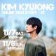 SS501 キム・キュジョン、11月7日&8日に第2回オンラインサイン会の開催が決定!