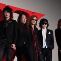 (左から)HEATH、PATA、YOSHIKI、ToshI、SUGIZO