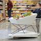 自動ブレーキ搭載ショッピングカートなら、スーパーマーケットでパパママも安心?