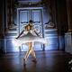 仏パリのオルセー美術館で行われた、ドガ展の特別バレエパフォーマンス(2019年10月9日撮影)。(c)Martin BUREAU / AFP