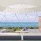 「グランマーレ 淡路」全棟客室温泉付&オーシャンビューグランピング、各テントに専用ガーデンも