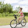DVDの中ではビキニ姿でサイクリング