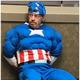 キャプテン・アメリカのコスチュームを着た強盗犯(画像は『New York Post 2019年9月13日付「'Captain America' busted for breaking into home shed in Mississippi」(Clarksdale Police Department)』のスクリーンショット)