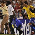 ブラジルの闘将は歓喜の雄たけび
