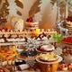 """京王プラザホテルのクリスマススイーツビュッフェ2019、真っ白な""""ロング""""ショートケーキなど"""