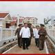 黄海北道の復旧現場を現地指導した金正恩氏(2020年9月15日付朝鮮中央通信より)