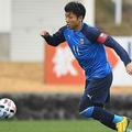 新シーズンはキャプテンを谷口彰悟に譲った小林悠。写真:徳原隆