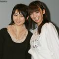 姉の田中優夏は、現役レースクイーン(写真左)。今年デビューが