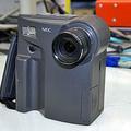 パソコンへの画像の入力に使用されたデジタルカメラ「PC-DC401」