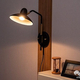 後付けできる2Way壁用照明! 帽子をモチーフにした『Arles small wall lamp アルル スモール ウォールランプ』がおしゃれで可愛い!