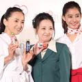 (左から)永作博美、高橋由美子、新木優子