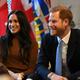 ヘンリー英王子と妻のメーガン妃(2020年1月7日撮影、資料写真)。(c)DANIEL LEAL-OLIVAS / POOL / AFP