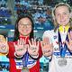 世界水泳でメダリストが池江璃花子にエール 手に「諦めないで」