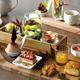 """琵琶湖マリオットホテル""""収穫祭""""テーマの秋アフタヌーンティー、和栗&カシスのムースや柿のタルト"""