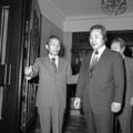 朴正煕元大統領と若かりし金泳三元大統領