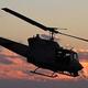 ヘリコプター「UH—1N」=2012年1月、イタリア/Gisele Tellier/Getty Images