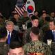 トランプは時に在韓米軍撤退を口にする