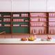 ロンドンに登場したミレニアルピンクな「ベジレストラン」