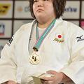 78kg超級を制した、田知本愛 (2013年12月1日、撮影:フォート