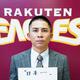 色紙に来季の目標を記した福山(C)Rakuten Eagles