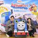 『映画 きかんしゃトーマス おいでよ!未来の発明ショー!』の公開アフレコに挑戦した賀来賢人(写真右)と後藤淳平(同左)の2人