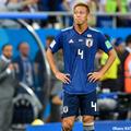 最後のW杯を終えた日本代表MF本田圭佑
