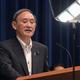 緊急事態宣言の延長などについて記者会見する菅義偉首相=首相官邸で2021年5月7日午後7時4分、竹内幹撮影