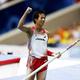 男子棒高跳・決勝にて。  写真は、自己ベストに並ぶ5m75cmを跳び、6位入賞を果たした山本聖途。  (撮影:フォート・キシモト)  [2013年8月12日、ルジニキ・スタジアム/モスクワ/ロシア]