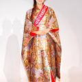 ミス日本の第43代グランプリに輝いた谷中麻里衣さん