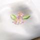 【京の菓子】陽に透けて光る桜の花を有平糖に 〜紫野源水「桜」