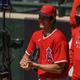エンゼルスの大谷(3日、Angels Baseball提供)