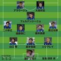 宇佐美が1位に選ぶ「05年のG大阪」の布陣。MVPにはアラウージョ