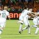 開始1分のゴールを守りきったアルジェリア。15大会ぶりの頂点に——。(C)Getty Images