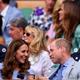 ロイヤルボックス最前列で観戦するキャサリン妃&ウィリアム王子(画像は『Kensington Palace 2019年7月14日付Instagram「What an incredible, breathtaking Wimbledon final @djokernole and @rogerfederer!」』のスクリーンショット)