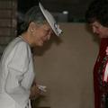日本赤十字社の行事に出席された美智子皇后陛下(2008年撮影)。