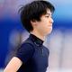フィギュアスケートのグランプリ(GP)シリーズ、第6戦「NHK杯」から。  写真は開幕前日。公式練習にのぞむ、羽生結弦。 (撮影:フォート・キシモト)  [2012年11月22日、宮城・セキスイハイムスーパーアリーナ]