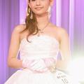 グランプリの廣井佑果子さん。「チャームポイントですか?はい、